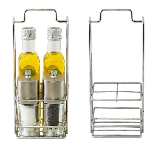 Porta oliere in filo metallico