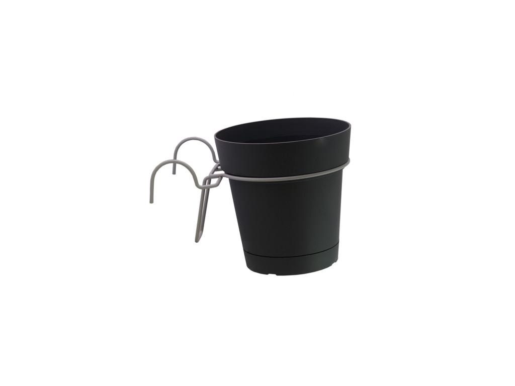supporto per vasi e fioriere in filo metallico