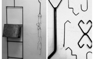 filo metallico per ganci di verniciatura